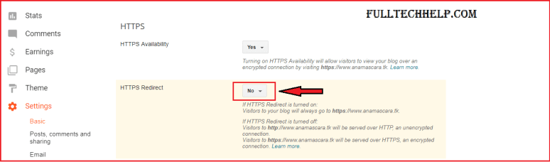 Enable HTTPS on Blogger Blog with Custom Domain : How to setup ssl in Blogger?