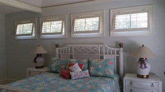 Top Hinge Awning Shutters