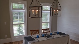 Shutters in Dining Room