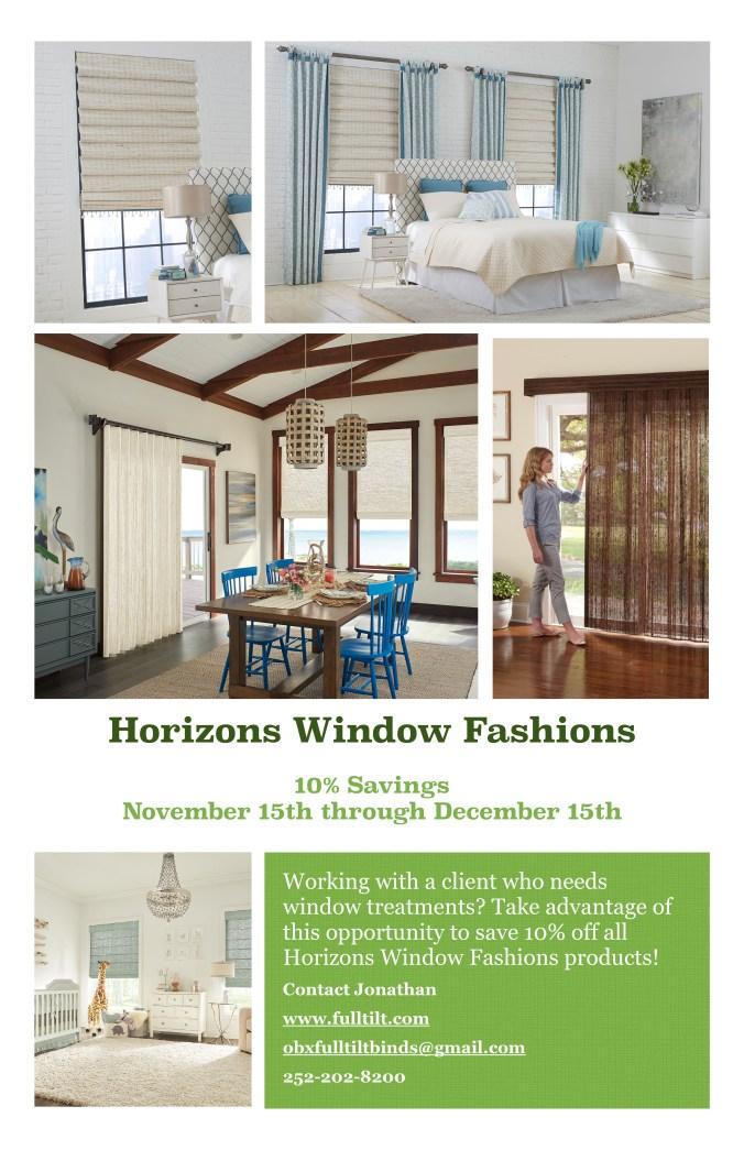 Horizons 10% Special Savings