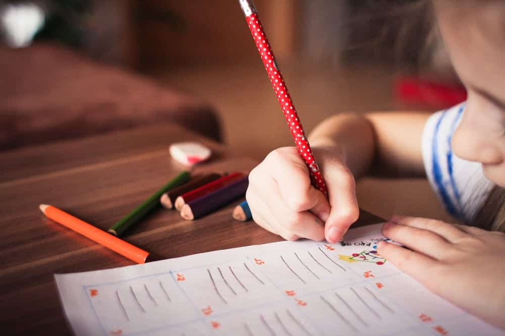 essay writng to your kids