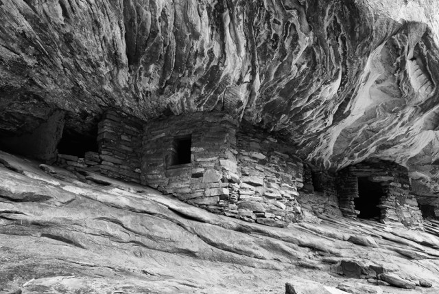"""""""House on Fire"""" Ancient Pueblo Dwelling"""