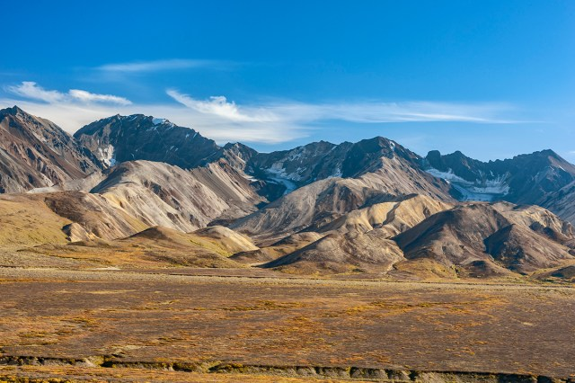 Polychrome Valley and Autumn Tundra