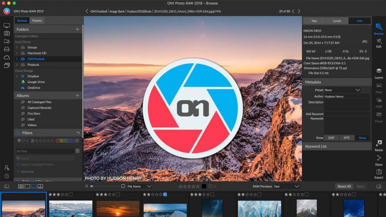 ON1 Photo RAW Crack v15.5.1+ Activation key Download [2021]