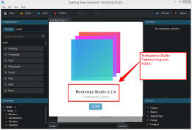 Bootstrap Studio 4.5.1 Crack + Product Key & Download 2019