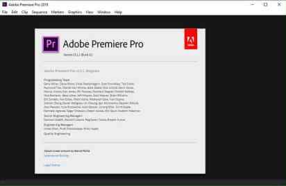 Adobe Premiere Pro CC CC 2019 13.1.3 Crack & License Key Full Free Download