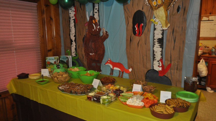 The Gruffalo Themed Birthday Party, Fully and Well, FullyandWell.com