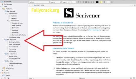 Scrivener Crack Free Download