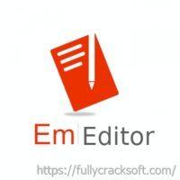 EmEditor Professional 21.1.0 Crack With Keygen Free Download [Latest]