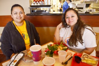 January 8: Lunch with these coworkers! Love them