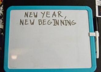 January 10: blank slate