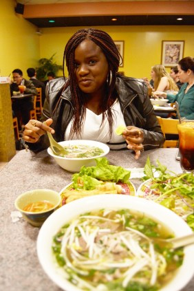 January 17: first pho experience