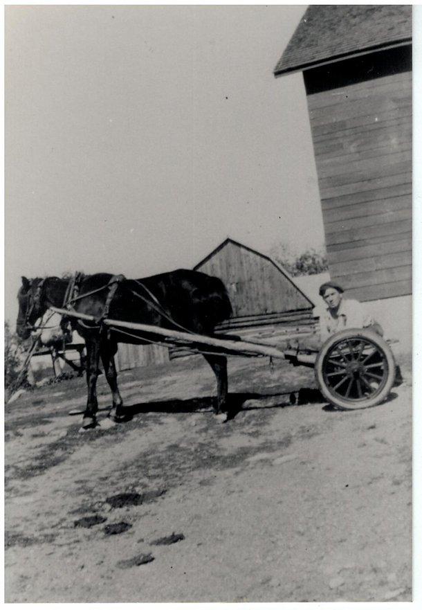 Johnny Fulton working at Fultons Sugarbush
