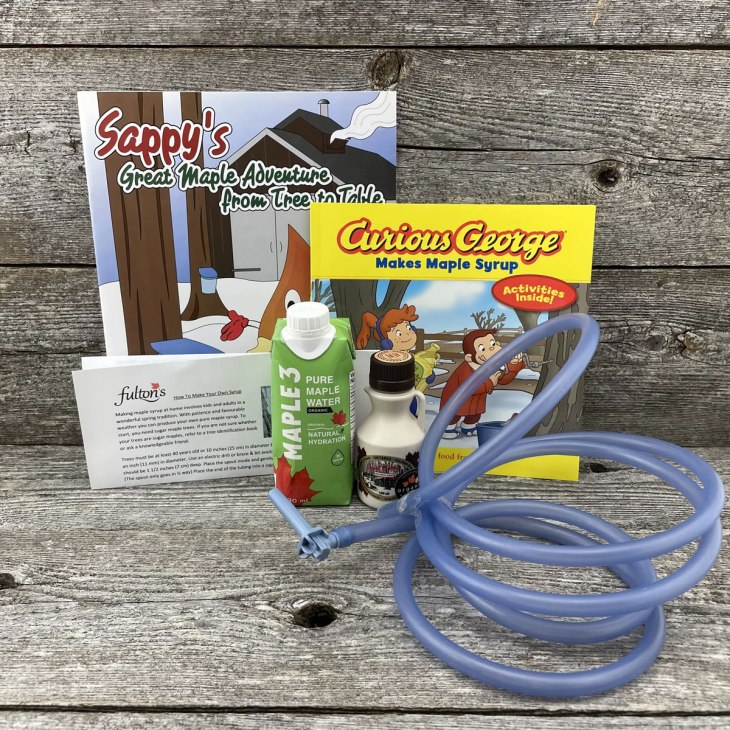 Maple sap tapping kit