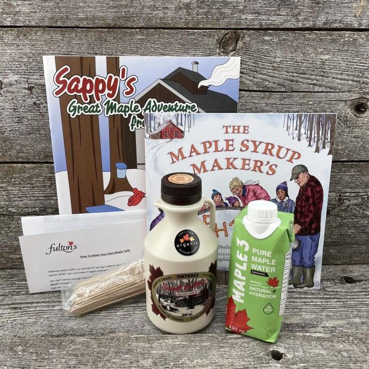 Maple Taffy kit