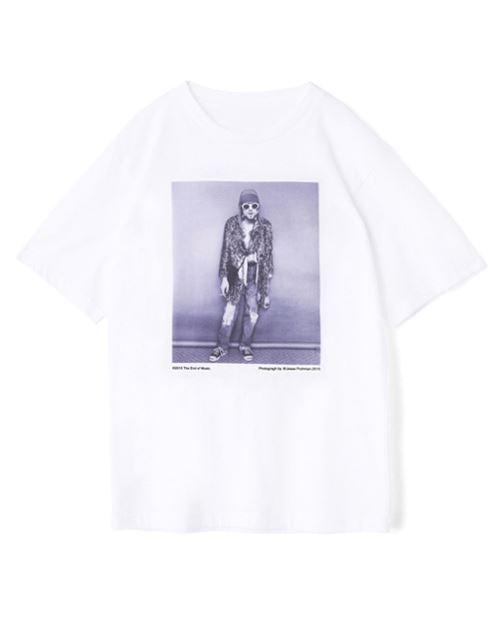 メゾンドリーファー×野口強コラボTシャツ1枚カートコバーンプリント全身