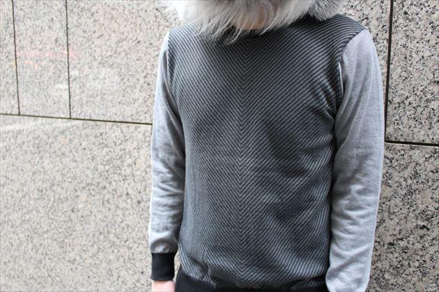 GUメンズクルーネックセーター