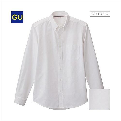 GU オックスフォードシャツ(長袖)D