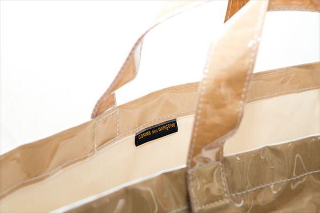 コムデギャルソントートバッグのタグ画像