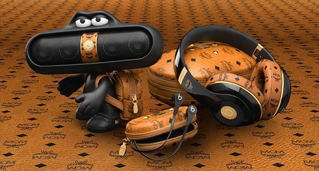 「MCM×ビーツバイドクタードレ」コラボオーディオ製品イメージ