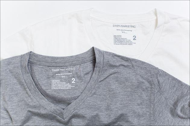 ロンハーマン×ホワイトマウンテニアリングコラボVネックTシャツ2