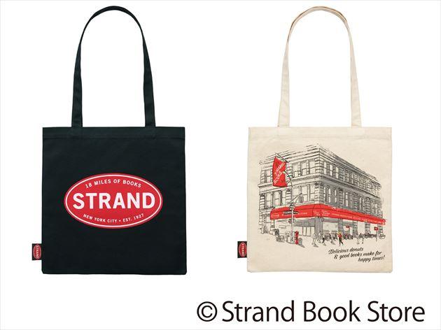 ミスタードーナッツ×STRAND BOOK STOREトートバッグ2モデル画像