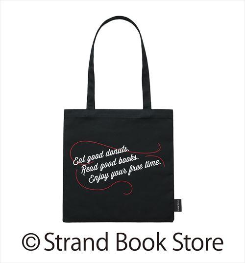 ミスタードーナッツ×STRAND BOOK STOREトートバッグブラック裏の画像