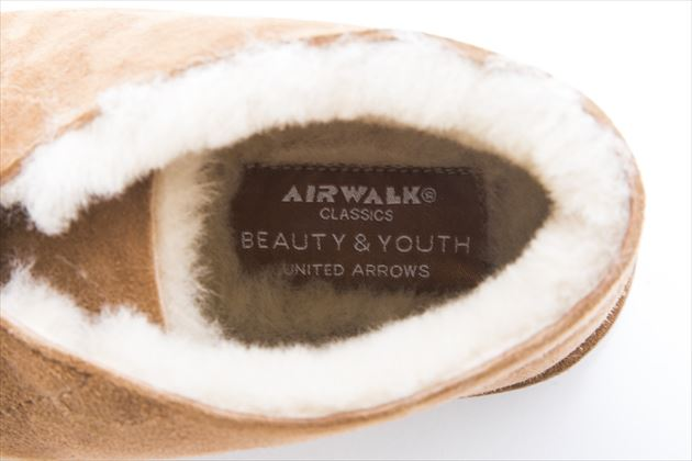 BEAUTY&YOUYH別注AIRWALK「SHEEPSKIN DESERT BOOT」画像2