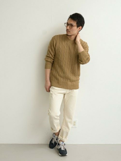 Cable knit mens coordinate06 r