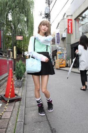 idp magazine掲載「七星ぐみ(バンドじゃないもん!)」スナップ画像