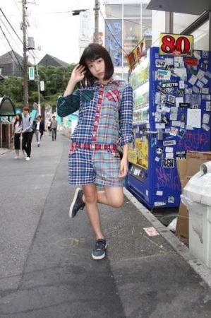 idp magazine掲載「京佳(夢見るアドレセンス)」スナップ画像