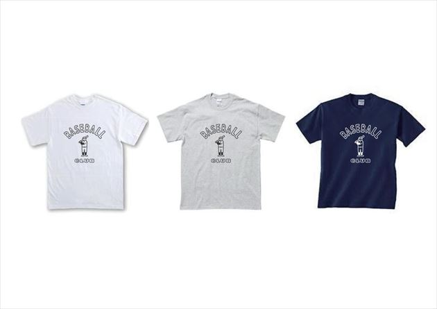 MIU×NoritakeコラボノリタケベースボールクラブシリーズTシャツ3タイプ