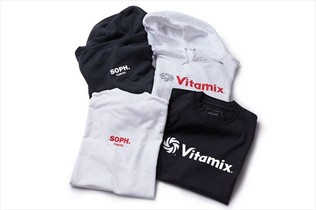 Vitamix x SOPHNET. PULL OVER HOODY