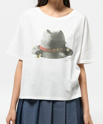 BY Cat's ISSUE プリントTシャツ/Maiko Dake