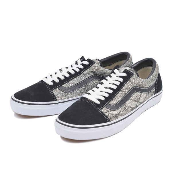 VANS OLD SKOOL SNAKE ホワイト1