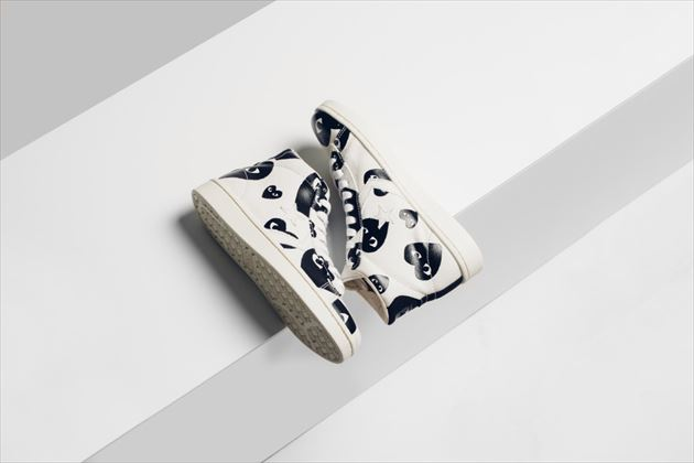 Converse x Comme Des Garcons PLAY Pro Leather Collection画像5