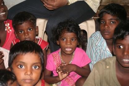 Slum kids programme in Mumbai