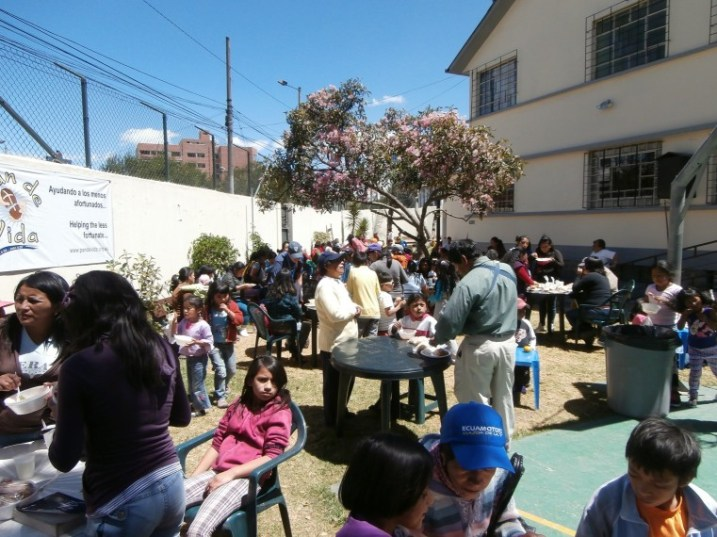 Sunday Lunch at Pan da Vida