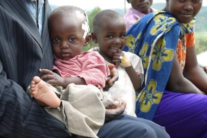 Children at Kibagora