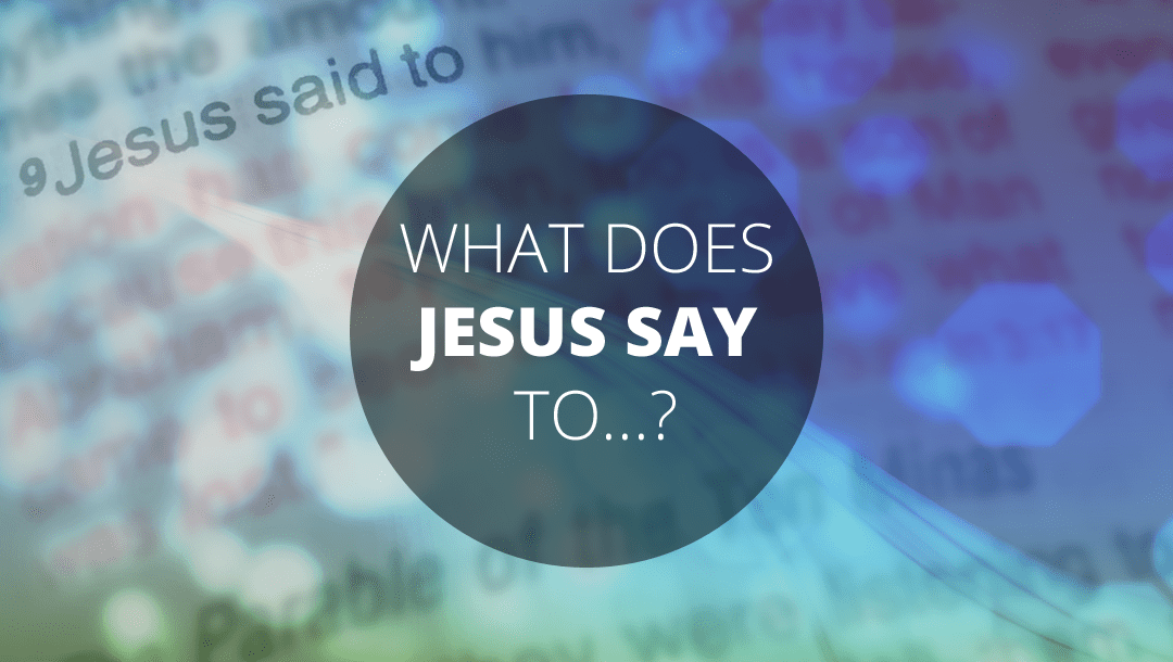 What does Jesus say to the seeker after the truth? John 3:1-21: Andrew Gardner