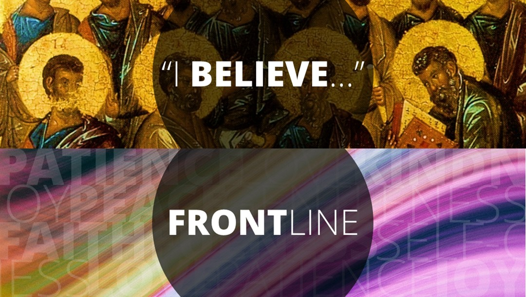 "Talks Series: FRONTLINE – ""I BELIEVE…"""