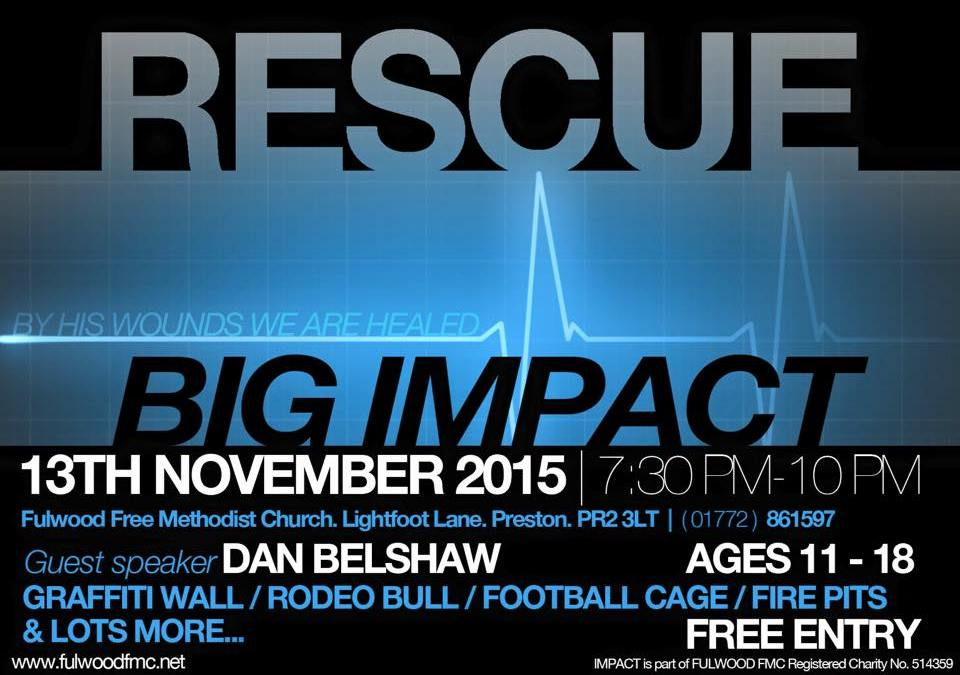 BIG IMPACT: RESCUE!