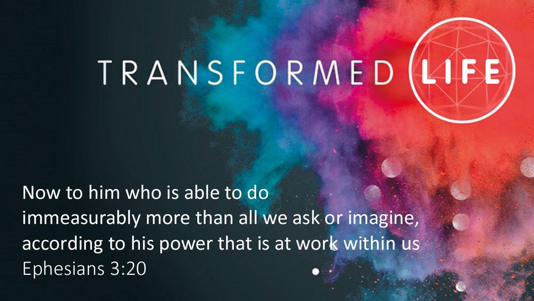 Transformed Life #7: Pray for power | Ian Clarkson