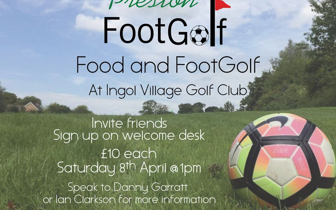 Food and FootGolf