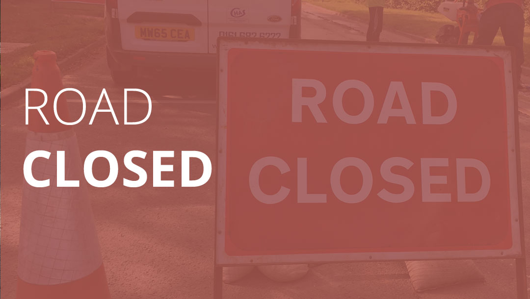 Overnight Road Closure: Friday 25th January 2019 to Monday 28th January 2019,