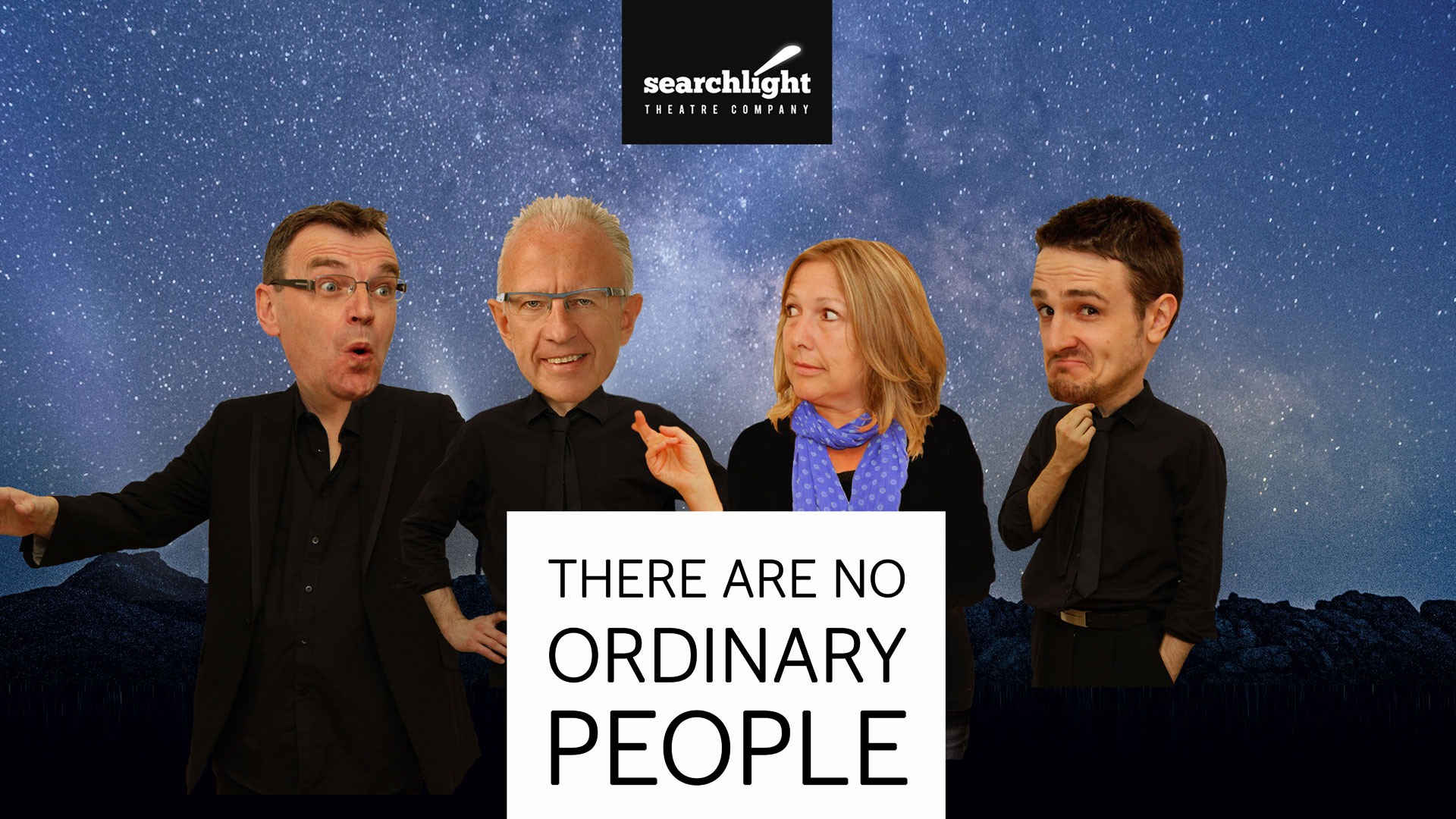 THERE ARE NO ORDINARY PEOPLE | An Evening with Jeff Lucas & Searchlight Theatre Company - Story Telling, Theatre, Music and Mirth...