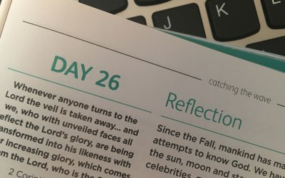 Reflection – reflections from Andrew Gardner | Day 26 | catching the wave | Focus on 40