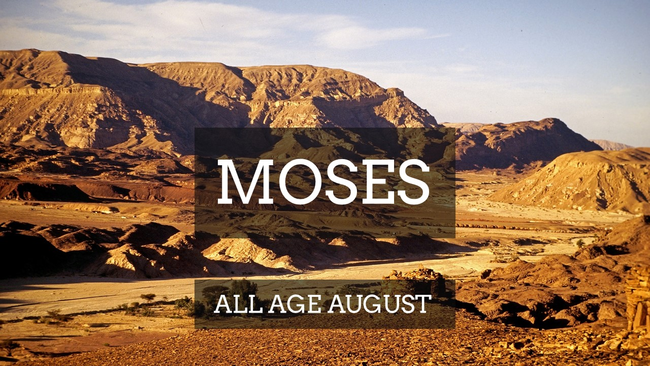 MOSES   All Age August