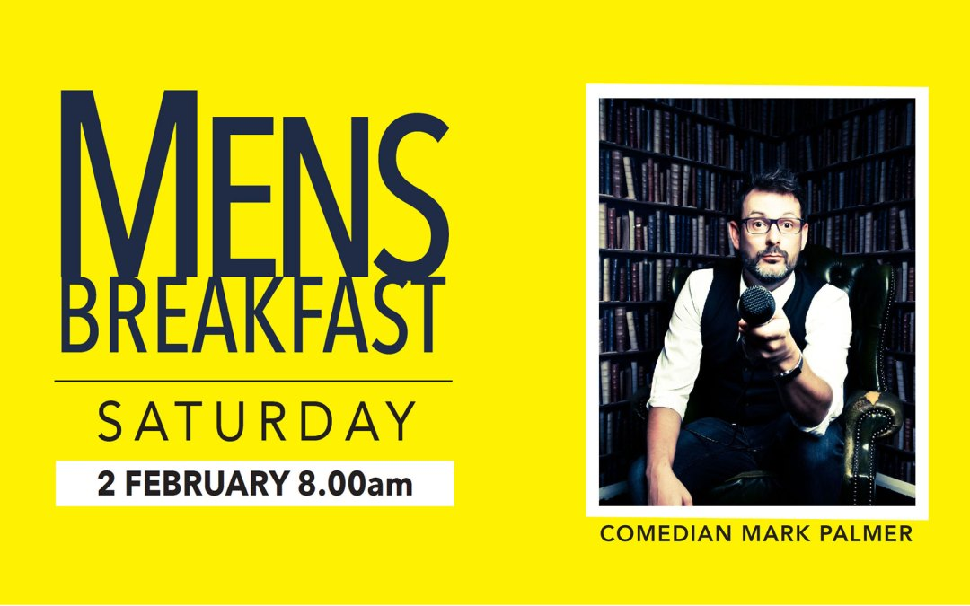 SOLD OUT | Mark Palmer | Men's Breakfast