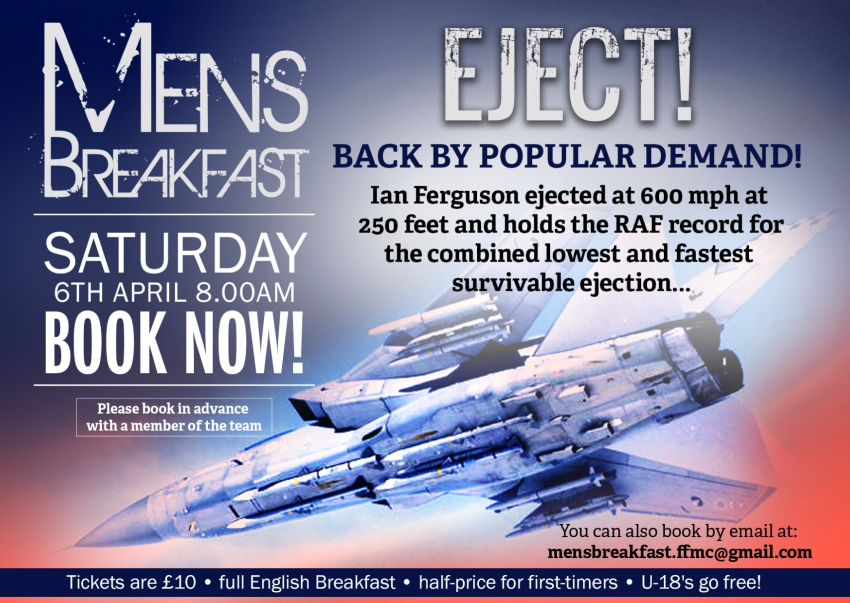 Eject! with Ian Ferguson | Men's Breakfast